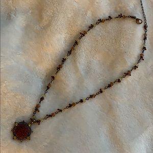 Express necklace/choker, adjustable